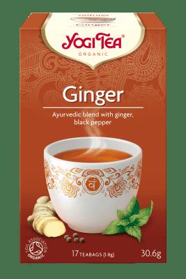 Джинджифил чай Био Yogi Tea, 17бр. - Yogi Tea