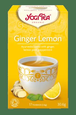 Чай джинджифил и лимон Био Yogi Tea, 17бр. - Yogi Tea