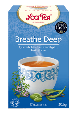 Чай за дишането Био Yogi Tea, 17бр. - Yogi Tea