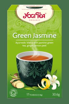 Зелен жасмин чай Био Yogi Tea, 17бр. - Yogi Tea