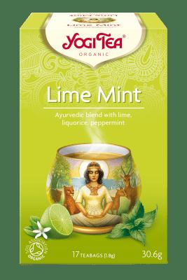 Лайм и мента чай Био Yogi Tea, 17бр. - Yogi Tea