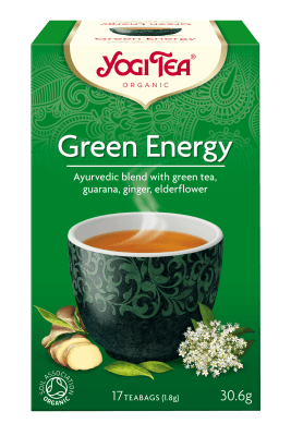 Зелена енергия чай Био Yogi Tea, 17бр. - Yogi Tea