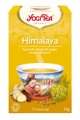 Хималая чай Био Yogi Tea, 17бр. - Yogi Tea