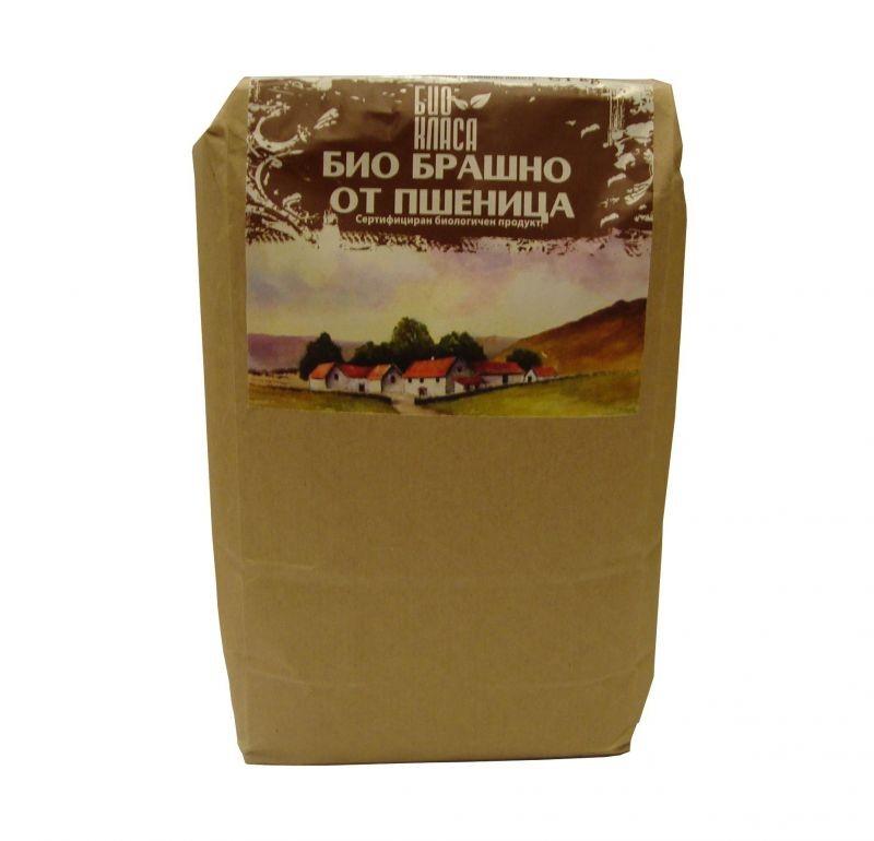 Брашно от пшеница пълнозърнесто Био Био Класа, 1кг. - Био Класа