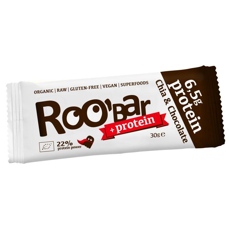 Суров протеинов десерт чиа и шоколад Roobar, 30гр. - Roobar