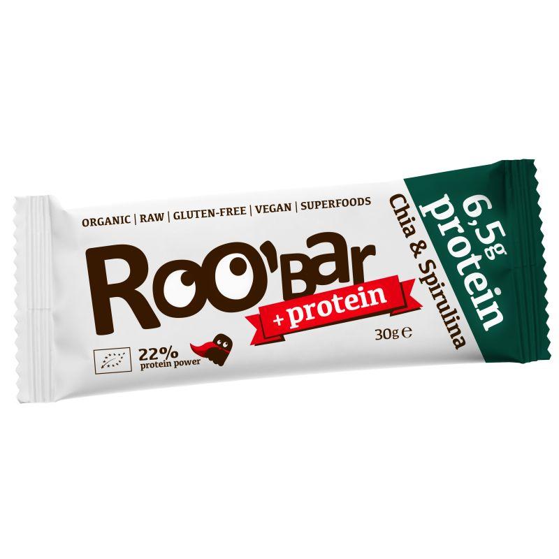 Суров протеинов десерт чиа и спирулина Roobar, 30гр. - Roobar