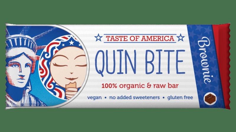 Сурово барче Вкуса на Америка Био Quin Bite, 30гр. - Quin Bite