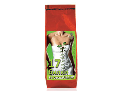 17 Билки за отслабване чай Bioherba, 100гр. - Bioherba