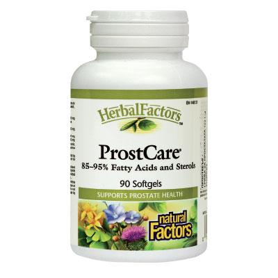 ПростКеър (ProstCare) – грижа за простатата 360мг. Natural Factors,  90 бр. - Natural Factors