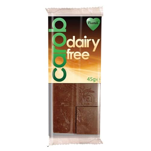 Рожков шоколад без млечни продукти Plamil, 45 гр. - Plamil
