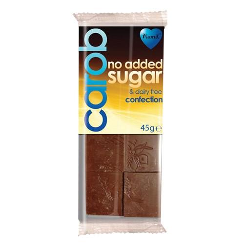 Рожков шоколад без захар и млечни продукти Plamil, 45 гр. - Plamil