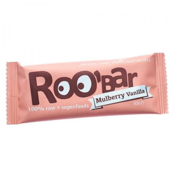 Суров бар черница и ванилия Био Roobar, 30гр. - Roobar