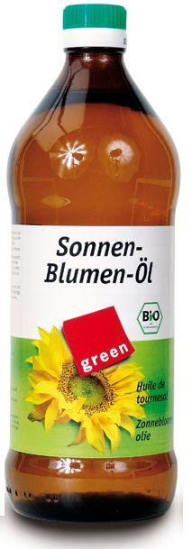 Слънчогледово олио Био  Green, 750мл. - Green