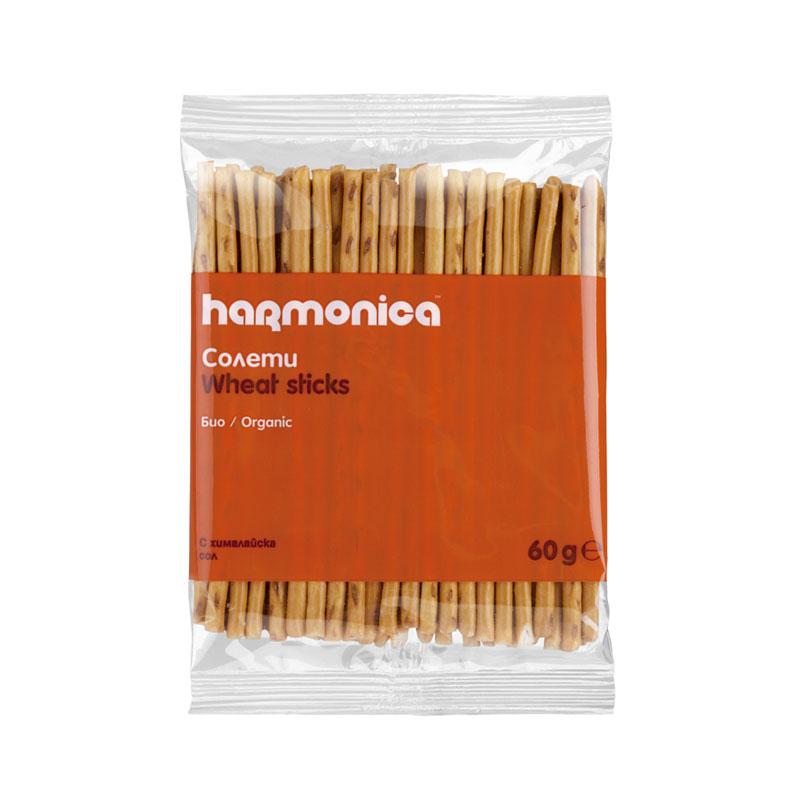 Солети със сол Био Harmonica, 60гр. - Harmonica