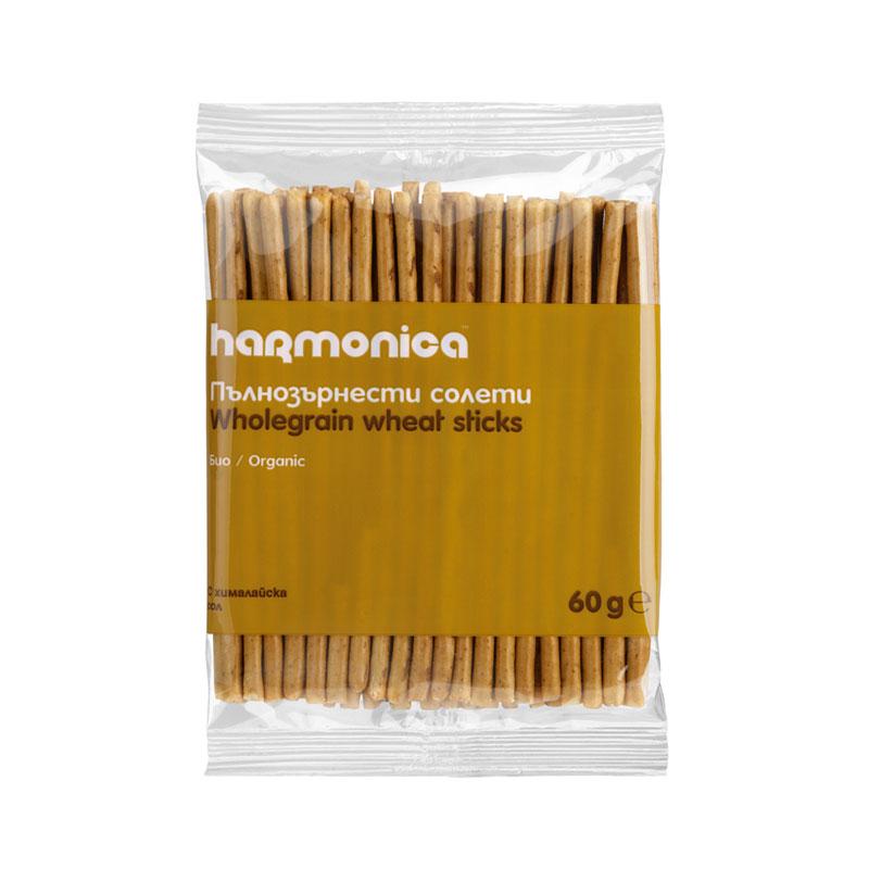 Солети пълнозърнести Био Harmonica, 60гр. - Harmonica