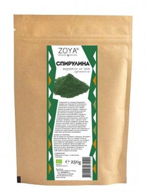 Спирулина на прах Био Zoya, 250гр. - Zoya