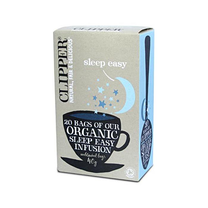 Био билкова смес за чай за спокоен сън CLIPPER TEAS, 20 бр. - CLIPPER TEAS