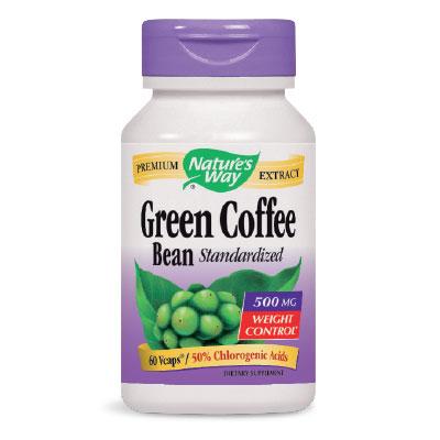 Зелено Кафе на Зърна 500 мг. Nature'sWay,  60бр. - Nature's Way