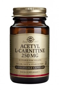 Acetyl L-carnitine_250mg_30 veg. caps