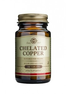 Chelated copper_100 tabs
