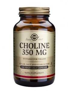Choline_350mg_100 veg. caps