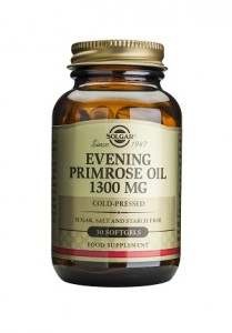 Evening primrose oil_1300mg_30 softgels