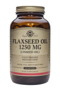 Flaxseed oil_1250mg_100 softgels