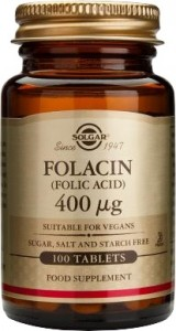 Folic acid_400μg_100 tabs