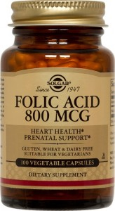 Folic acid_800μg_100 veg. caps