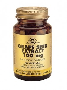 Grape seed extract_100mg_30 veg. caps