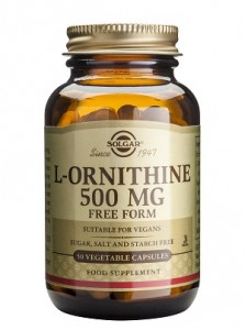 L-ornithine_500mg_50 veg. caps