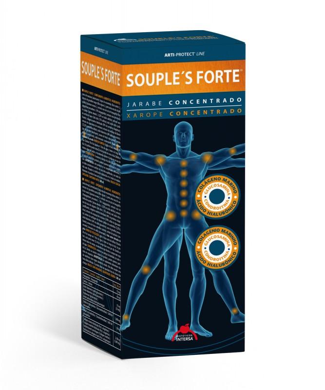 Сироп Souples Forte 500 мл. Dietetico Intersa - Dietetico Intersa