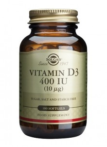Vitamin D3_400IU_100 softgels