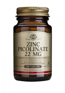 Zinc picolinate_22mg_100 tabs