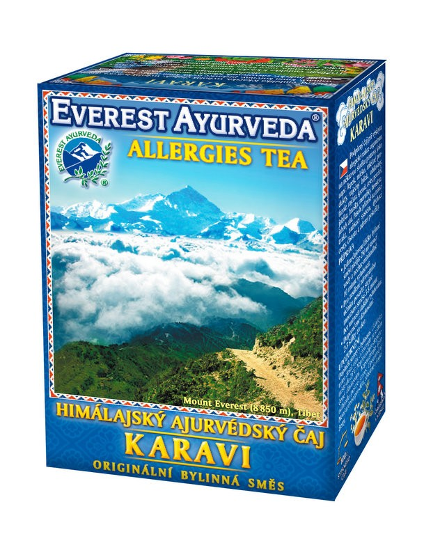 Karavi чай – алергии, Everest ayurveda, 100гр. - Everest ayurveda