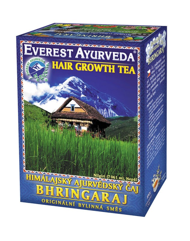 Bhringaraj чай – растеж на косата, Everest ayurveda, 100гр. - Everest Ayurveda