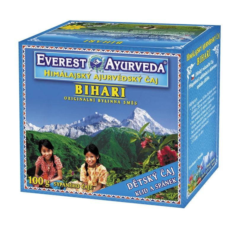 Bihari Детски чай за здрав сън Everest ayurveda, 100гр. - Everest Ayurveda