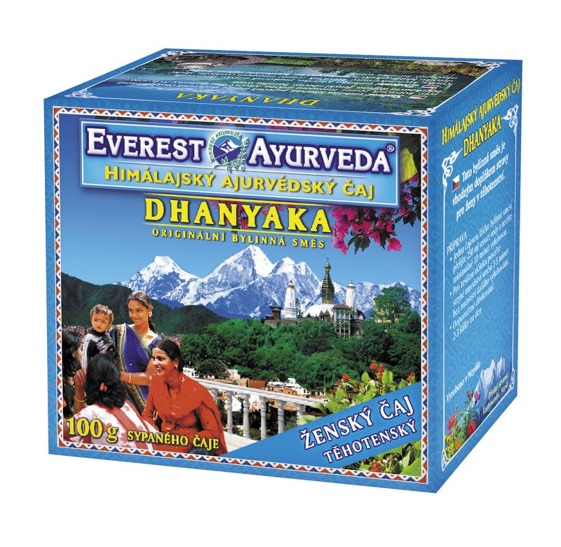 Dhanyaka чай за бременни Everest ayurveda, 100гр. - Everest ayurveda