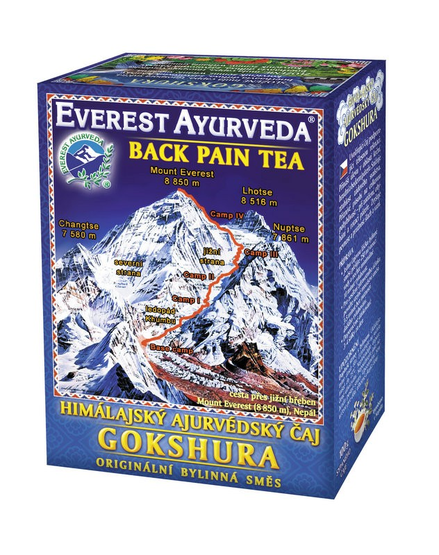 Gokshura чай – болки в гърба, Everest ayurveda, 100гр. - Everest Ayurveda