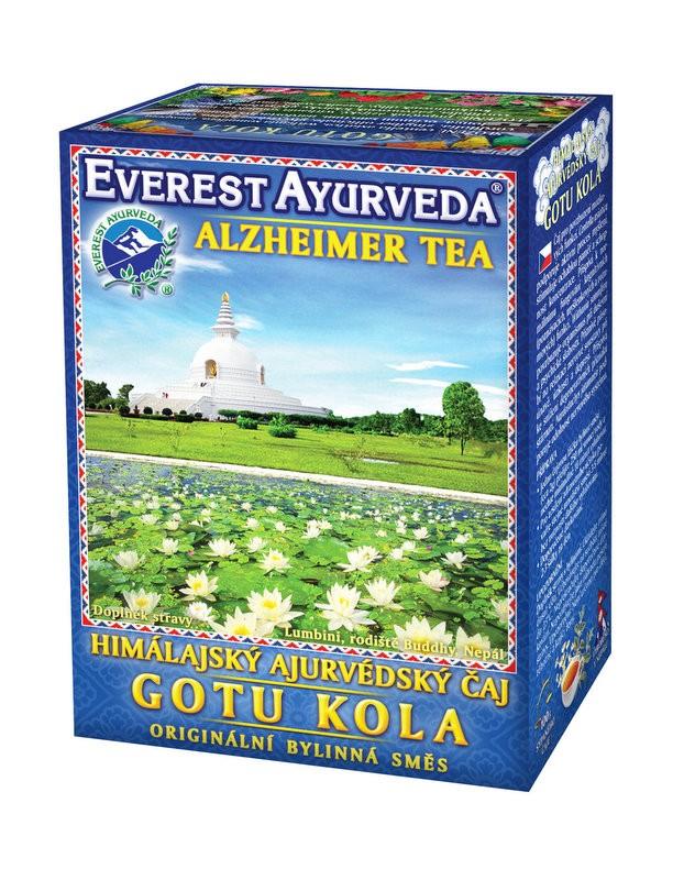 Gotu kola чай – стимулиране на мозъчната дейност, Everest ayurveda, 100гр. - Everest Ayurveda