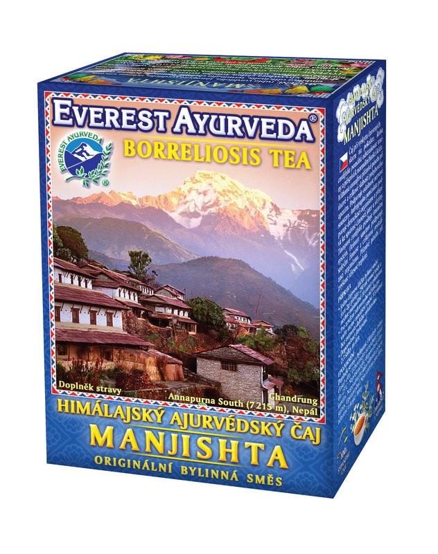 Manjishta чай – ухапване от кърлеж и лаймска болест, Everest ayurveda, 100гр. - Everest Ayurveda