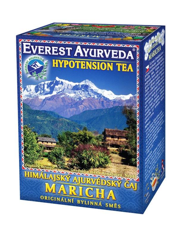 Maricha чай – ниско кръвно налягане, Everest ayurveda, 100гр. - Everest Ayurveda