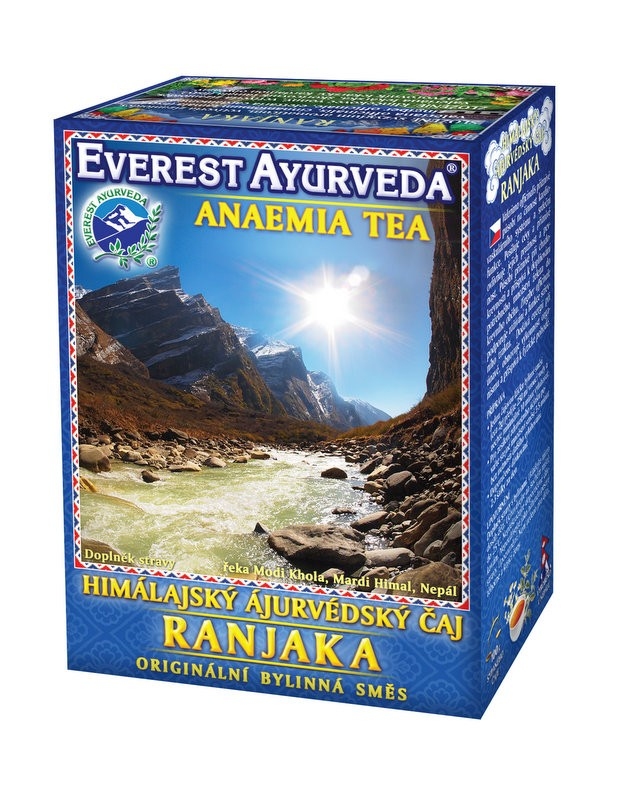 Ranjaka чай – анемия, Everest ayurveda, 100гр. - Everest Ayurveda