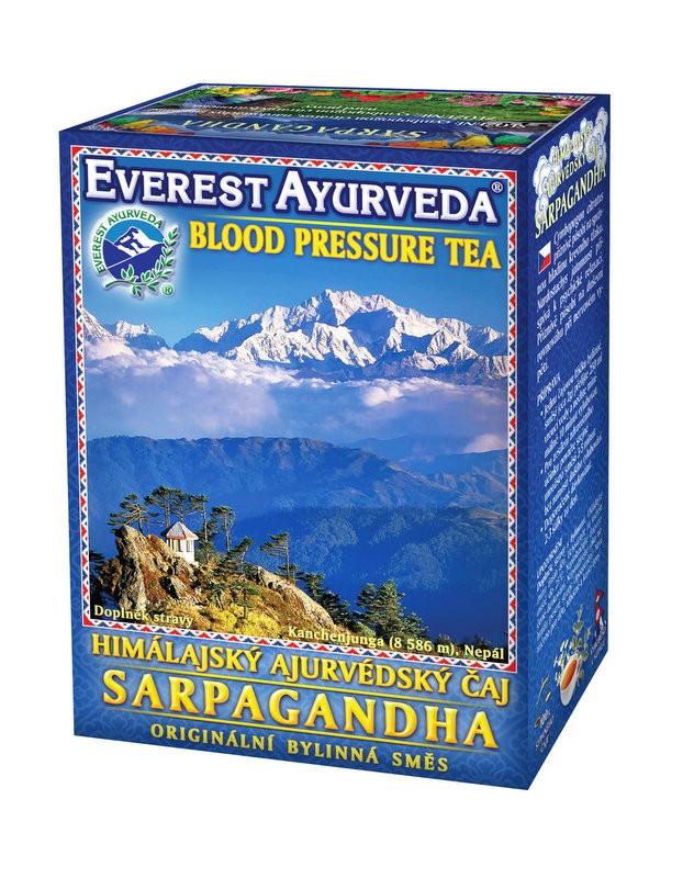 Sarpagandha чай – високо кръвно налягане, Everest ayurveda, 100гр. - Everest Ayurveda