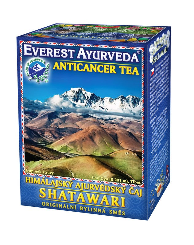 Shatawari чай – онкологично лечение, Everest ayurveda, 100гр. - Everest ayurveda