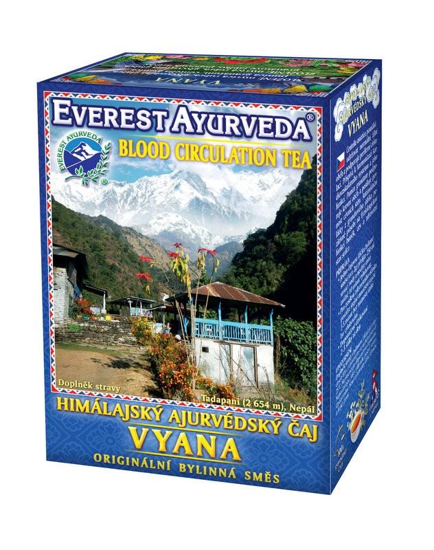 Vyana чай – кръвообръщение, Everest ayurveda, 100гр. - Everest Ayurveda