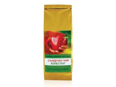 Холестоп сърдечен чай Bioherba, 120 гр. - Bioherba