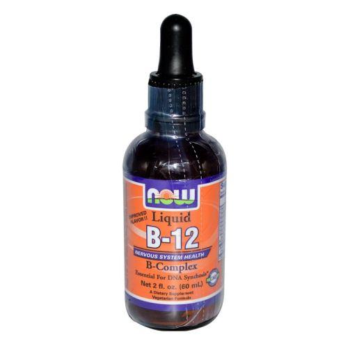 Витамин B-12 комплекс Now, 60мл. -
