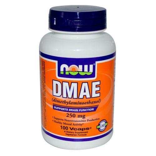 Диметиламиноетанол – DMAE 250мг. Now, 100бр. -