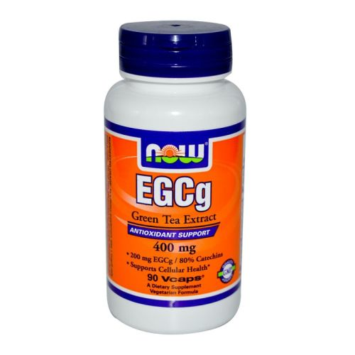Епигалокатехин Галат-EGCg 400мг, Now, 90 бр. -